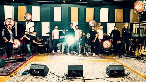 """Die """"Söhne"""" sehen sich am Anfang einer neuen Schaffensphase der Band. Foto: Söhne Mannheims"""