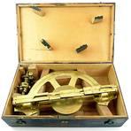 Der Messing-Tachymeter ist trotz seiner gut 250 Jahre noch immer gut erhalten.  Foto: Museum