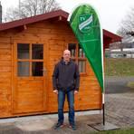 """Allrounder Reiner Schmidt an einem seiner """"TVA-Arbeitsplätze"""". Foto: Ittmann"""