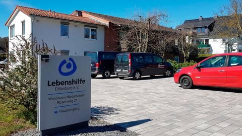 Das Wohnheim der Lebenshilfe in Niederscheld. Foto: Christoph Weber
