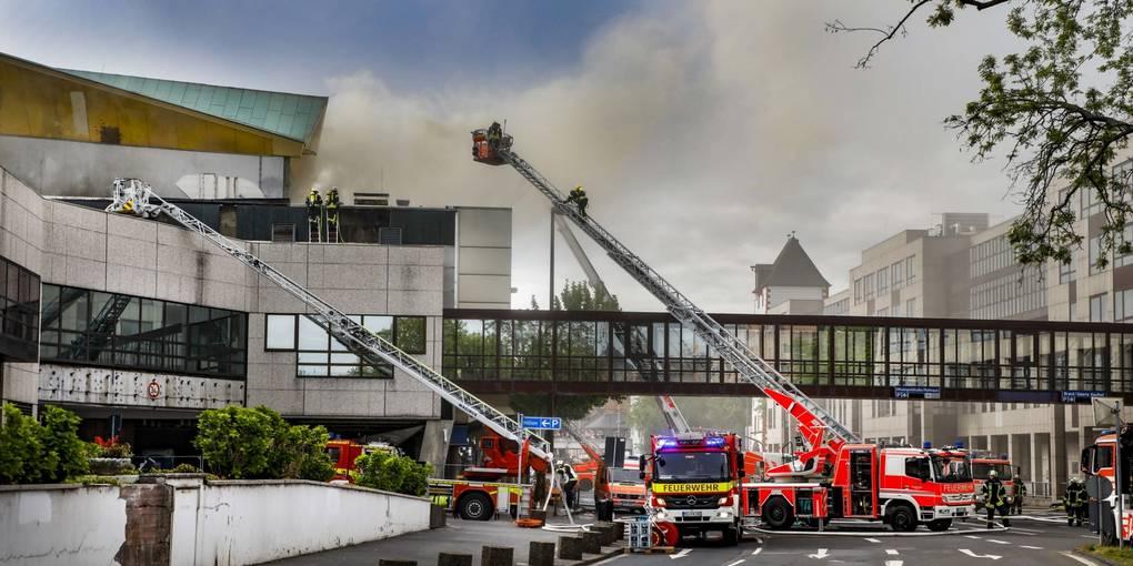 Feuer Rheingoldhalle