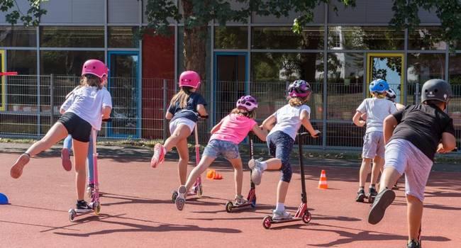 Abstoppen Und Ausweichen An Der Sandfeldschule In Gießen