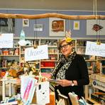 Freut sich über das gestiegene Interesse an Lektüre: Edith Jung von der Büchergilde-Buchhandlung. Foto: Dirk Zengel