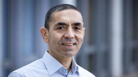 Biontech-Chef Ugur Sahin will die Impfstoffproduktion hochfahren.  Foto: Sascha Kopp