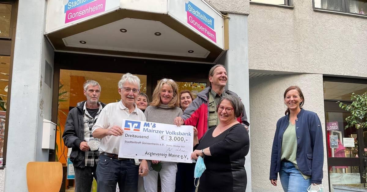 Piks und Spende für Stadtteiltreff in Mainz-Gonsenheim