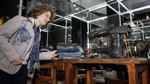 Die verschiedenen Produktionsmilieus im Lauf der Jahrzehnte sind ebenfalls Thema der Ausstellung. Foto: Technoseum