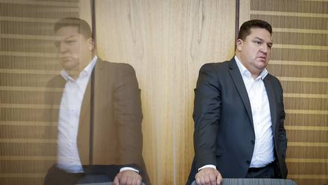 Marcus Held, hier im Gerichtssaal - ein Mann mit vielen Seiten. Foto: Sascha Kopp