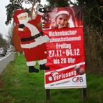 Die Bickenbacher Gewerbetreibenden laden als Ersatz für den ausgefallenen Weihnachtsmarkt zum Weihnachtsbummel ein. Foto: Karl-Heinz Bärtl