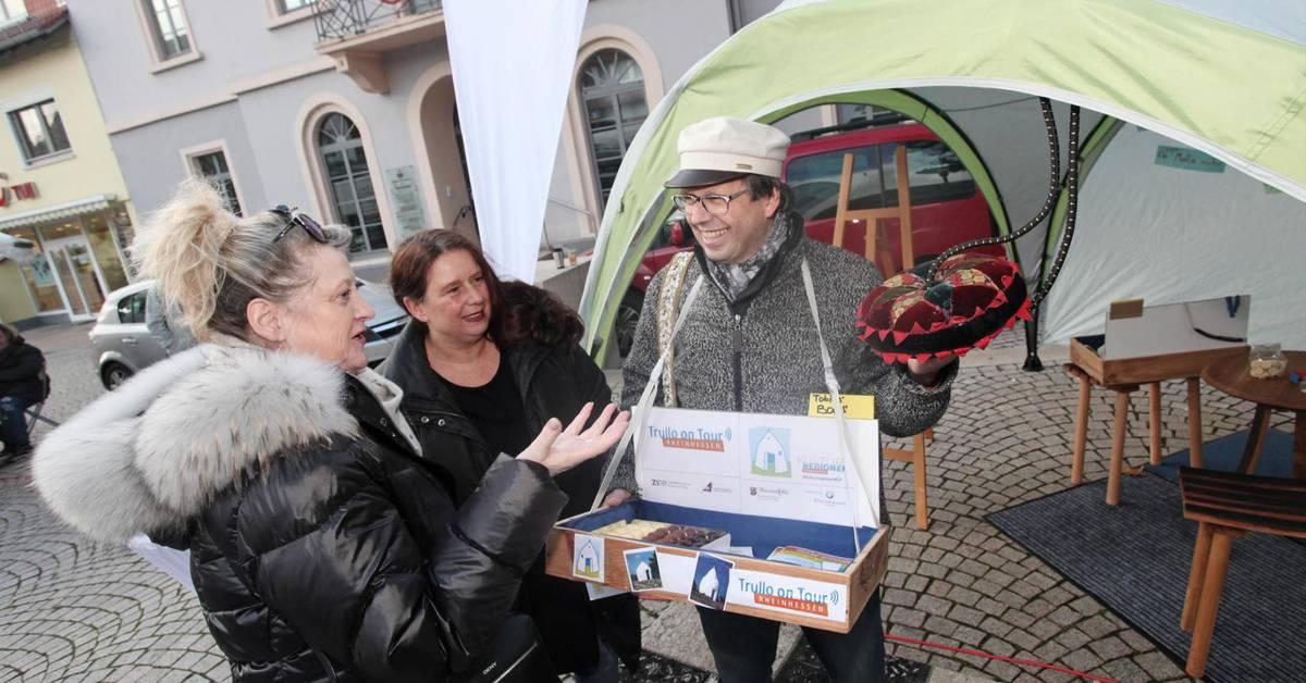 """Künstler-Duo macht in Nieder-Olm Station mit """"Trullo on Tour"""" - Allgemeine Zeitung"""