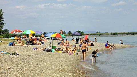 Das Strandbad in Oppenheim Archivfoto: hbz/Michael Bahr