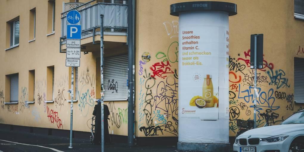 So will Mainz gegen illegale Schmierereien vorgehen - Allgemeine Zeitung