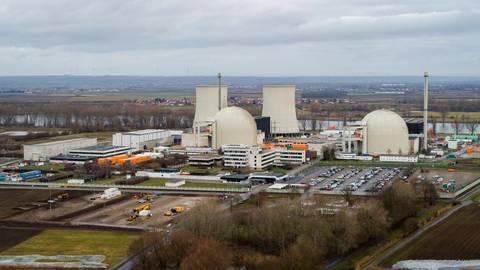 Alleine an Beton fallen nach dem Abriss des Kernkraftwerks 270 000 Tonnen an. Archivfoto: Simon Rauh
