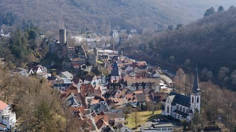 Burg Eppstein und Stadt Perlita Braquet/Simon Rauh