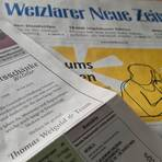 """Die Anzeige in der Freitagausgabe dieser Zeitung löst Bestürzung und Diskussionen in sozialen Netzwerken aus: Thomas Weigold gibt die Schließung der """"Ratsschänke"""" bekannt.  Foto: Christian Keller"""