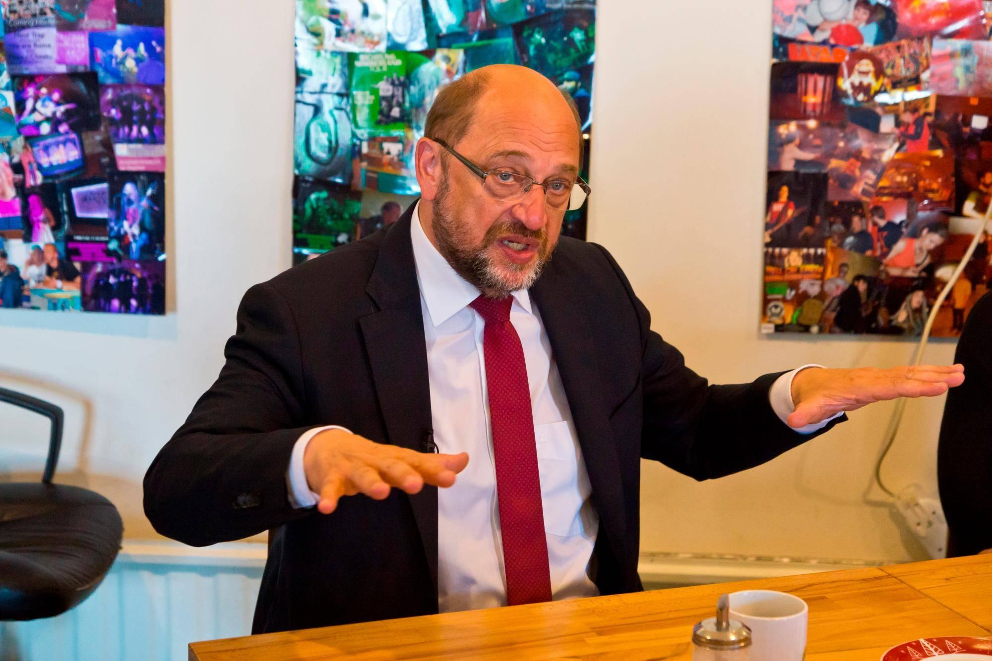 Martin Schulz kämpft unverdrossen weiter
