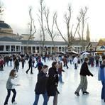 """Ein Bild aus einer anderen Zeit: die """"Eiszeit"""" auf dem Bowling Green im Jahr 2003. Archivfoto: Friedrich Windolf"""