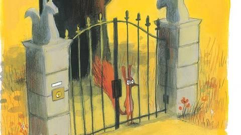 """Betreten verboten: Illustration aus """"Das ist mein Baum"""" von Olivier Tallec. Foto: Gerstenberg"""