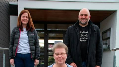 Das alte Team des Ortsbeirats ist auch das neue: Wiebke Achenbach (l.), Anette Luy und Jürgen Becker setzen sich weiter für die Belange der Niedereisenhäuser ein. Foto: Sascha Valentin