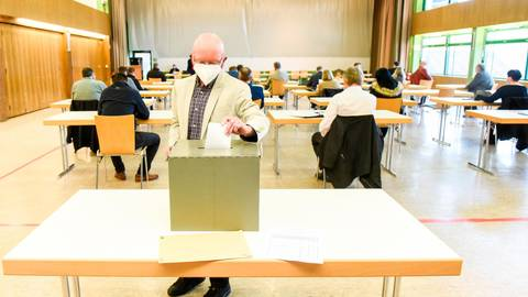 In der konstituierenden Sitzung bestimmten die gewählten Gemeindevertreter auch einen neuen Gemeindevorstand. Diesem wird auch Uwe Biermas (Bild) angehören.  Foto: Katrin Weber