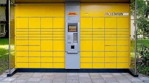 So oder so ähnlich wird sie aussehen: Nun erhält auch die Gemeinde Mittenaar eine Packstation. Symbolfoto: Deutsche Post/DHL
