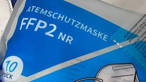 Weder die vom Zollamt Wetzlar und Regierungspräsidium Gießen überprüften 102.000 medizinischen Masken, noch die 41.400 FFP2-Masken erfüllten die rechtlichen Vorgaben zur Produktsicherheit. Symboloto: Till Simon Nagel/dpa