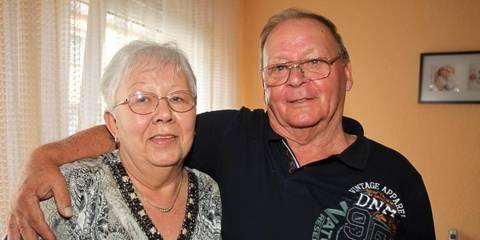 Dier Gebürtigen Kostheimer Anton Und Monika Vogler Feiern