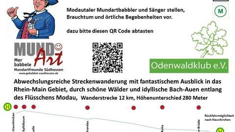Die Ludwigs-Buwe, Sänger des Odenwaldklubs Ernsthofen. Fotos: Günther Bersch / Mundartfreunde