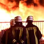 Warum das Feuer beim Papierrecycling-Unternehmen Uriel Papierrohstoffe in Diez Anfang Juni ausgebrochen ist, wird nie abschließend geklärt werden können.  Archivfoto: Andreas Egenolf