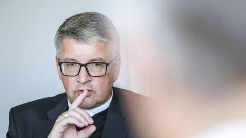 """Bischof Peter Kohlgraf: """"Viele sind von der Kirche enttäuscht."""" Archivfoto: Harald Kaster"""