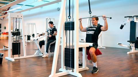 Das Fitnessstudio der TG Rüsselsheim musste lange geschlossen bleiben. Archivfoto: Vollformat/Samantha Pflug