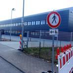 """Die Maschinenbaufirma Günther siedelt im Sommer nach Eppertshausen um. Dort wurde eine neue Produktionshalle im Gewerbegebiet """"Park 45"""" errichtet. Foto: Michael Prasch"""