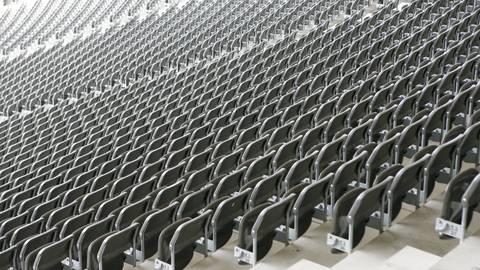 Ab Mitte oder Ende Mai könnten sich die Sportminister Spieler vor leeren Rängen vorstellen. Foto: dpa