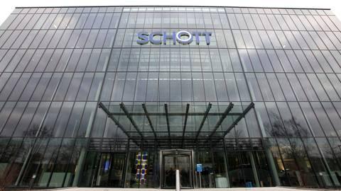 Die Konzernzentrale der Schott AG in Mainz. Archivfoto: hbz/Alexander Sell