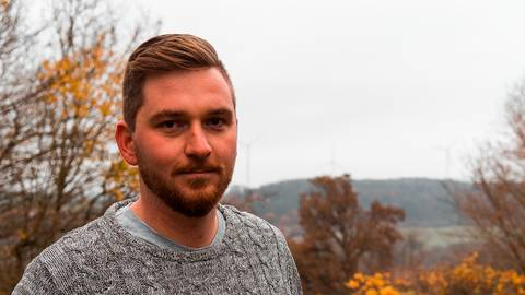In Groß-Felda ist Daniel Müller durch seine Aktivitäten in den Vereinen bekannt. In Gemünden will sich der Neuzugezogene jetzt sämtlichen Bürgern vorstellen.  Foto: Müller