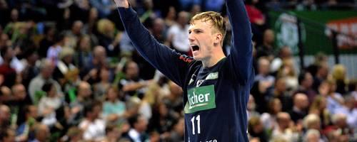 Till Klimpke (20) hütet das Tor des Handball-Bundesligisten HSG Wetzlar.  Foto: Martin Weis