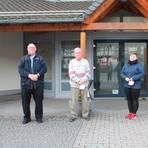 Das ist der neue Ortsbeirat Hartenrod mit (v. l.) Ortsvorsteher Hans-Jürgen Debus, dessen Stellvertreter Heinz Althaus, Laura Brumlik und Burckhard Riehl. Jens Jung rückt noch nach.  Foto: Helga Peter