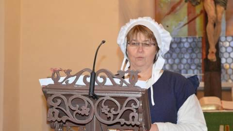 Eine 19-Jährige heiratet einen 33-Jährigen: Anette Henrich berichtet aus dem Leben der jungen Margaretha.Foto: Maresch  Foto: Maresch