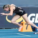 Ein Start wie aus der Kanone geschossen: Rebekka Haase auf ihrem Weg zur Silbermedaille. Foto: Imago