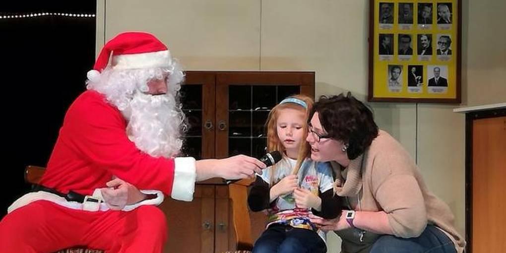 Weihnachtsfeier Theaterstück.Sängerlust Weihnachtsfeier Mit Nikolausbesuch Chorbeiträgen Und