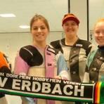 Der SV Erdbach könnte sich am 10. Oktober mit den Teams der 2. Luftgewehr-Bundesliga messen, v. l. Irina Lauer, Melina Gwiazdowski, Fabienne Plaum, Lena Beul und Anne Becker.  Archivfoto: Dieter Pfeiffer