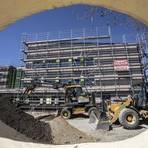 Die Bauarbeiten an der Nauheimer Grundschule gehen dem Ende entgegen. Foto: Vollformat/Volker Dziemballa