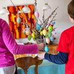Ostern im Ausnahmezustand: Das Coronavirus ist für Familien eine Herausforderung. Foto: dpa
