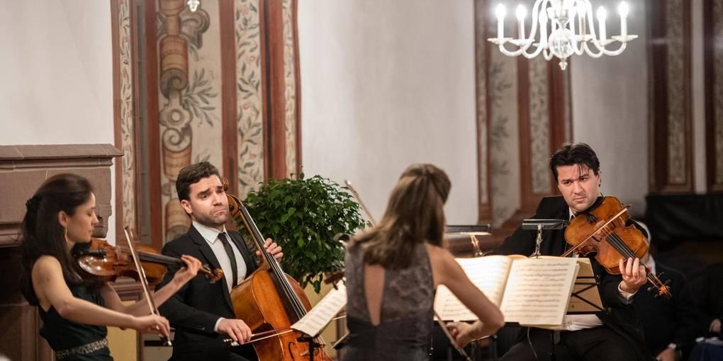 Vier, die es können: Das Repertoire des Minetti-Quartetts umfasst Kammermusikstücke von der Wiener Klassik bis zur zeitgenössischen Musik. Foto: Sascha Lotz