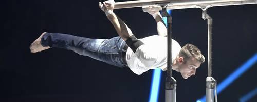 """Auch Helge Liebrich wird beim """"Feuerwerk der Turnkunst"""" in der Rittal-Arena sein ganzes Können vorführen. Foto: TSF GmbH"""