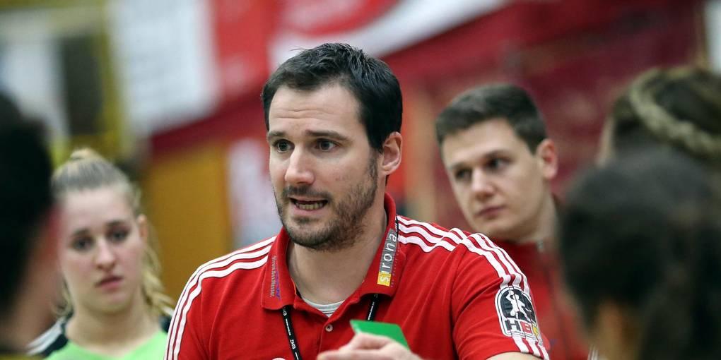 Zurück im Frauen-Handball: Florian Bauer wird in der nächsten Saison Trainer beim FSV Mainz 05. Zu den Stationen des aktuellen Co-Trainers von Drittligist Bieberau/Modau gehören auch die Flames der HSG Bensheim/Auerbach. Archivfoto: Jürgen Plfiegensdörfer