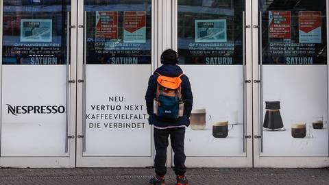 Auch der Elektronikhändler Saturn hat eine Öffnungsklage angestrengt. Foto: dpa