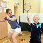 Schon 2019 arbeitete der SV Offenheim am Badminton-Stützpunkt intensiv mit dem Nachwuchs. Dieses Training leidet gegenwärtig unter den Corona-Restriktionen. Archivfoto:  pa/Axel Schmitz
