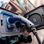 Blick auf eine Ladestation für Elektrofahrzeuge.  Foto: dpa
