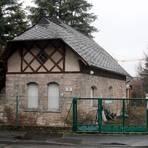 Wo seit 1904 das Pumphaus des alten Wasserwerkes steht, das heute das Museum für Mombacher Ortsgeschichte beherbergt, entsprang einst die Suderquelle.Foto: hbz/Jörg Henkel