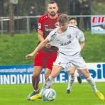 Ein Wiedersehen gibt es am Samstag zwischen Stadtallendorf und Bahlingen. Im Hinspiel führte die Eintracht bis zur Schlussminute mit 2:0 - und gewann doch nicht.  Archivfoto: Luca Raab